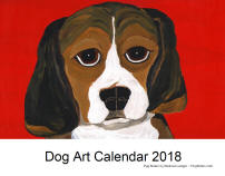 Click here for a close up of Dog Art 2018