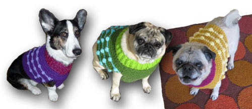 Visit my Etsy Shop to order your custom Dog Sweater Vest!