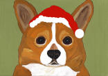 (HCOR) - Holiday Corgi